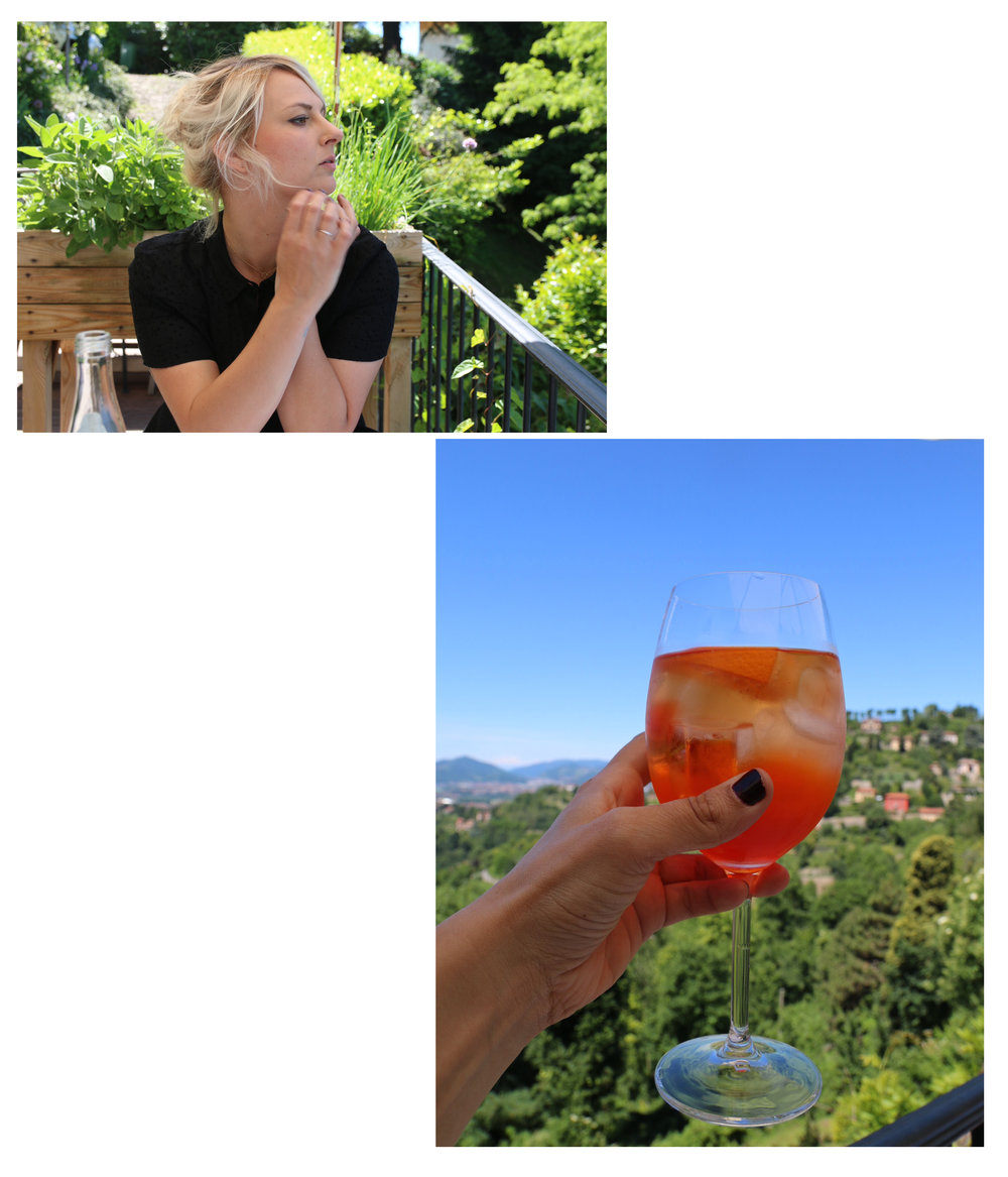 The perfect surrounding for Aperol Spritz