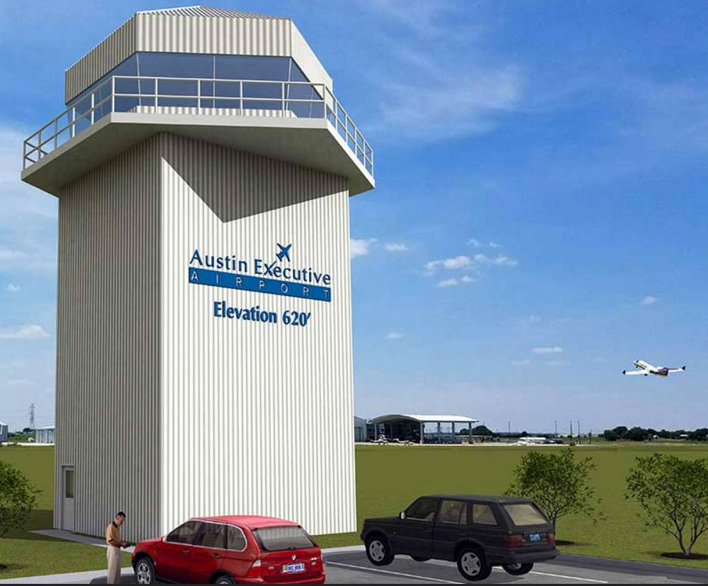 New control tower opens February 2018