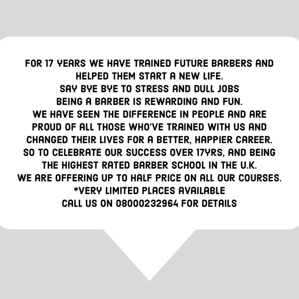 be a barber - enjoy a new life