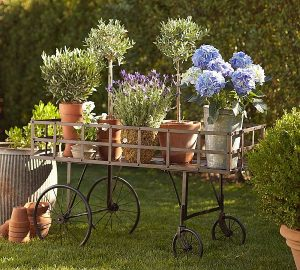 metal-push-flower-cart