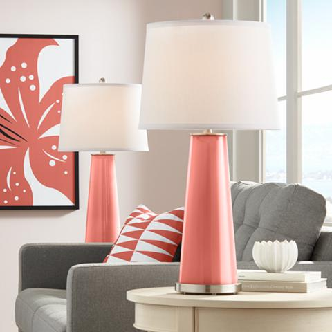 Coral lamps by Lamps Plus