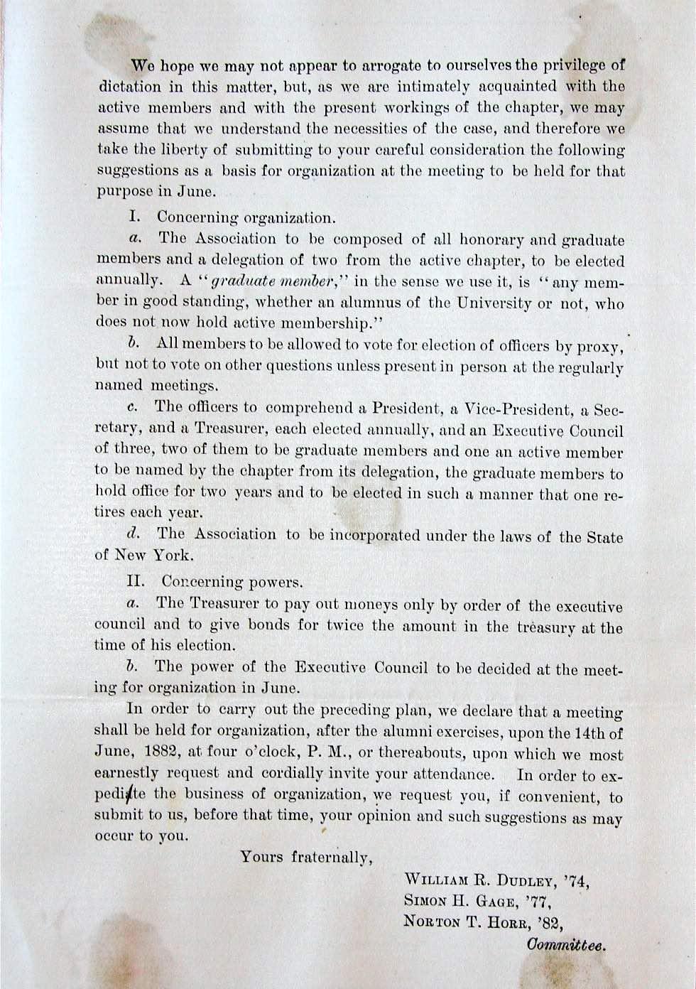 Alumni Circular, Page 2