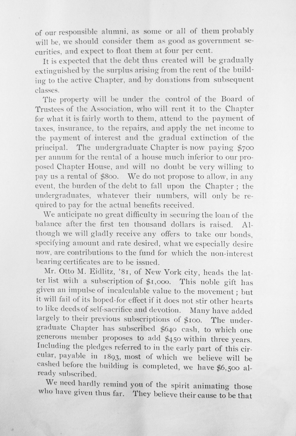 Circular About New House, Page 3