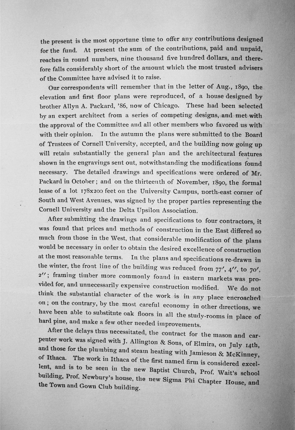 Circular About New House, Page 4