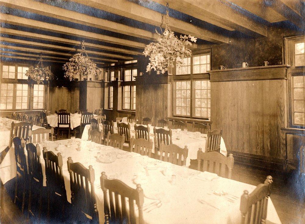 Dining Room, Circa 1915