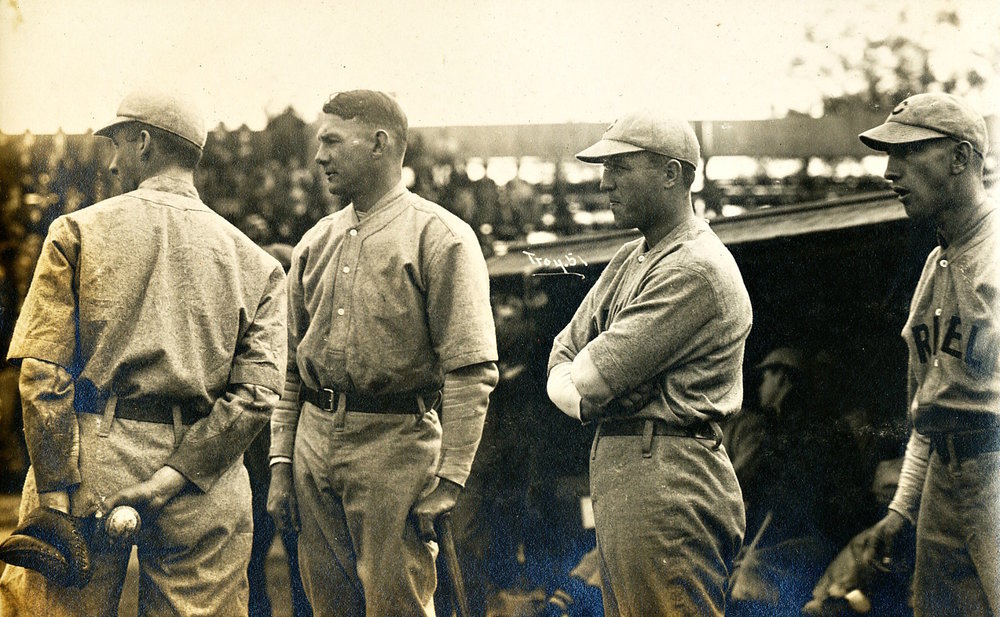 Brother and Coach Sherick, Far Left