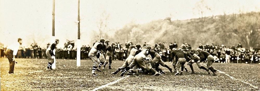 Cornell, 0 v. Michigan, 17, CIrca 1915