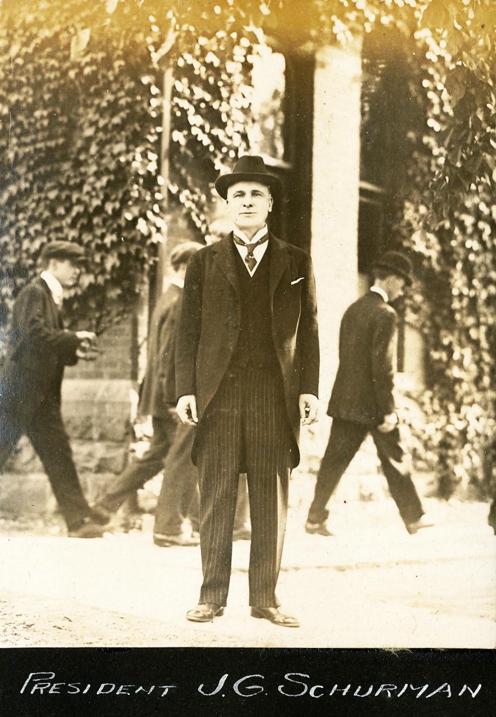 CU President Shurmann | Circa 1915