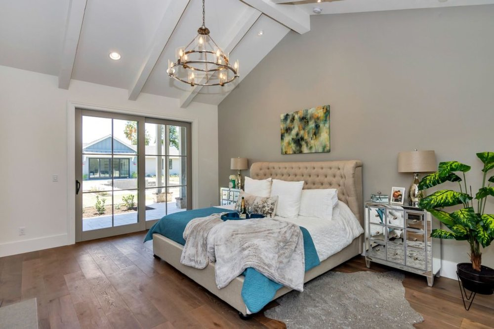 Luxury Master Bedroom, Home Staging