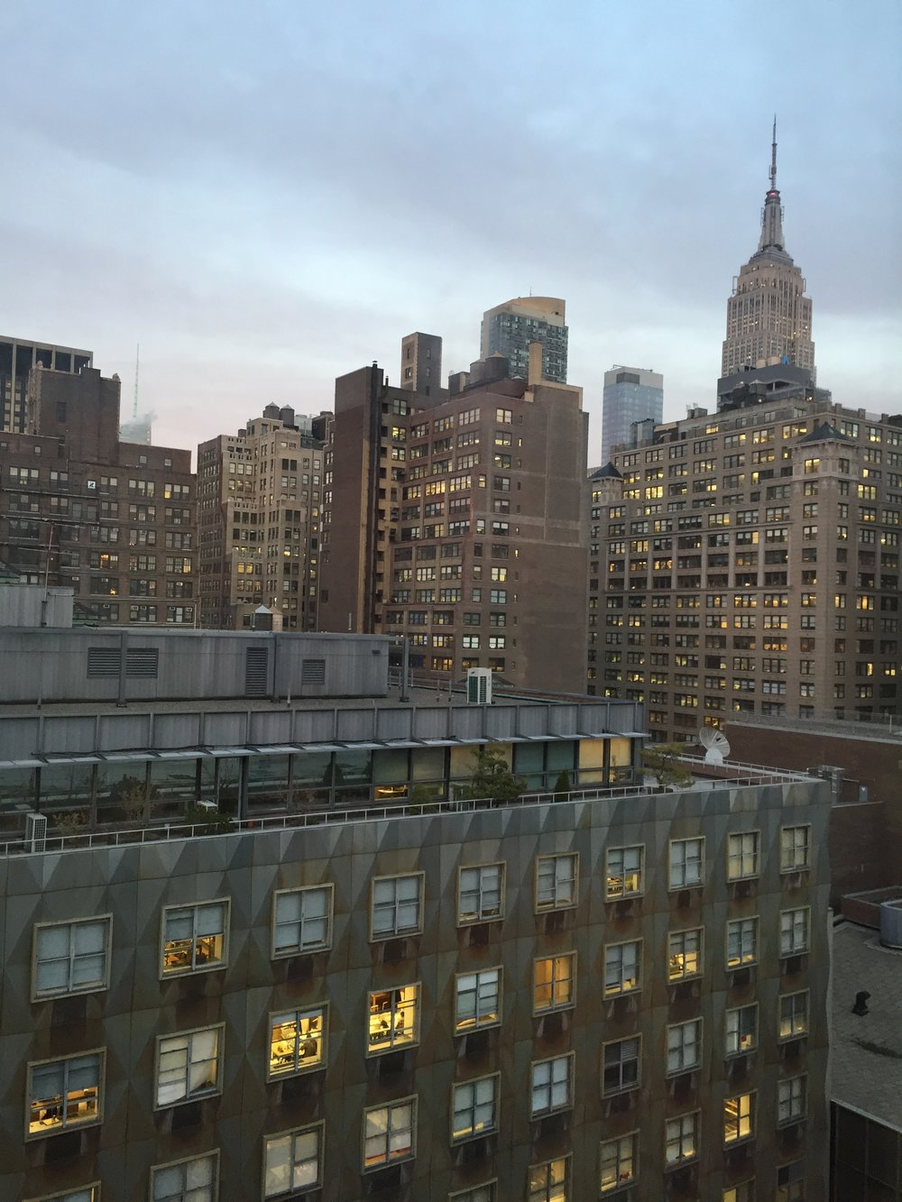 My view from my dorm room.