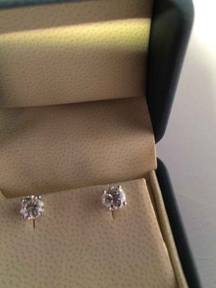Diamond Stud Earrings starting at $200 -
