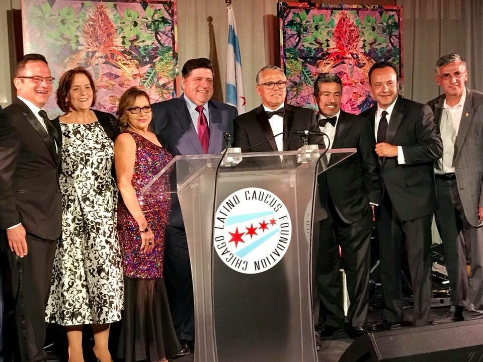 Chicago Latino Caucus Foundation Gala, organization founded by Alderman Solis, raises over $450,000 for scholarship, internship and mentorship support. - September 2018