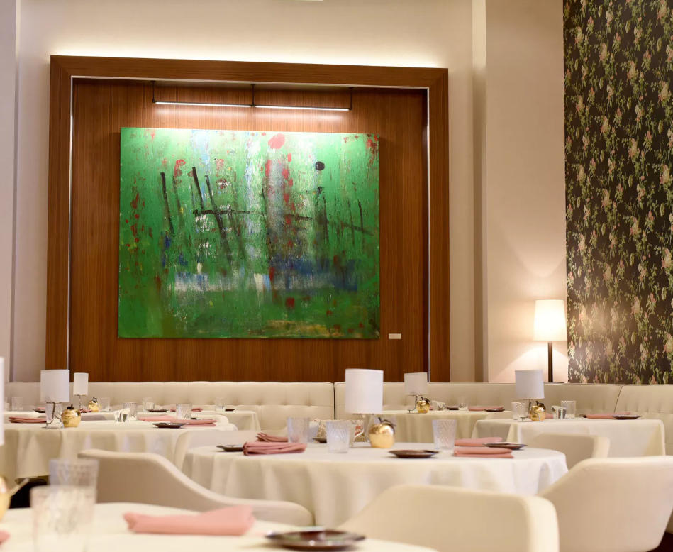 MAIN DINING ROOM - - Four-course prix-fixe or chef's