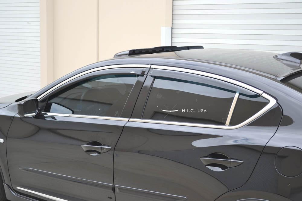 Side Visor ILX HIC USA - Acura ilx window visors