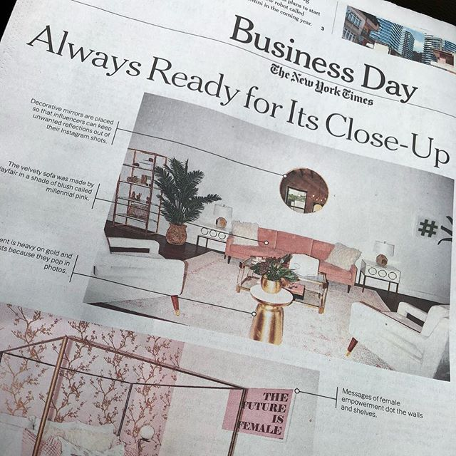 Sorry for all of the bragging today, but I got my client in the New York Times which spurred a whole bunch of exciting stuff. Pick up the paper today to learn all about how Village Marketing is transforming the influencer marketing industry.