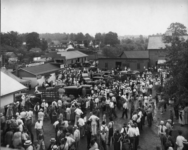 Auction Grounds 1936
