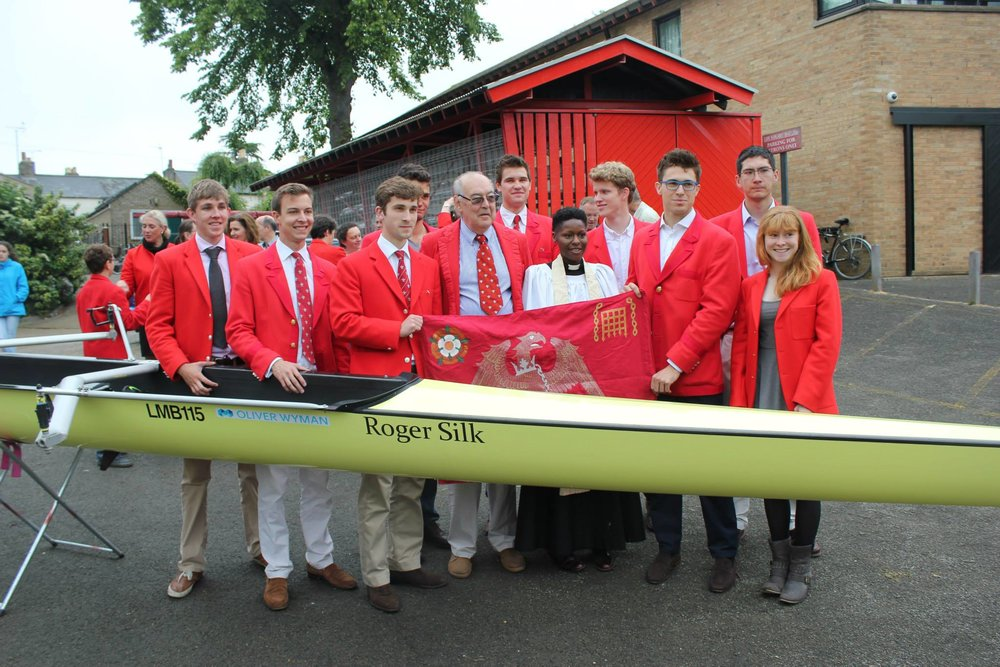 Through the generosity of the LMBCA and the St John's Annual Fund - we have been able to reach new heights as a boat club. - Picture: The 2015 M1 Empacher purchase and naming ceremony.