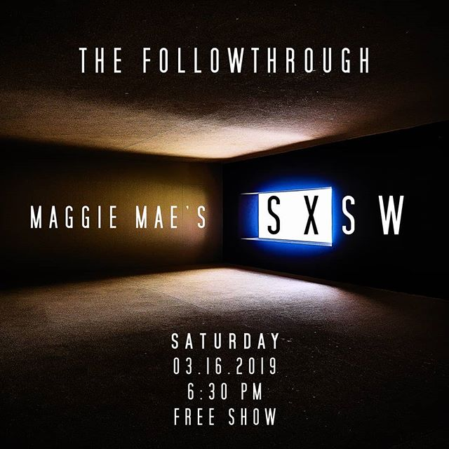 We will be performing live at Maggie Mae's this SXSW weekend. This is a FREE SHOW! We start at 6:30pm on Saturday March 16th! #livemusic #maggiemaes #austintexas #sxsw