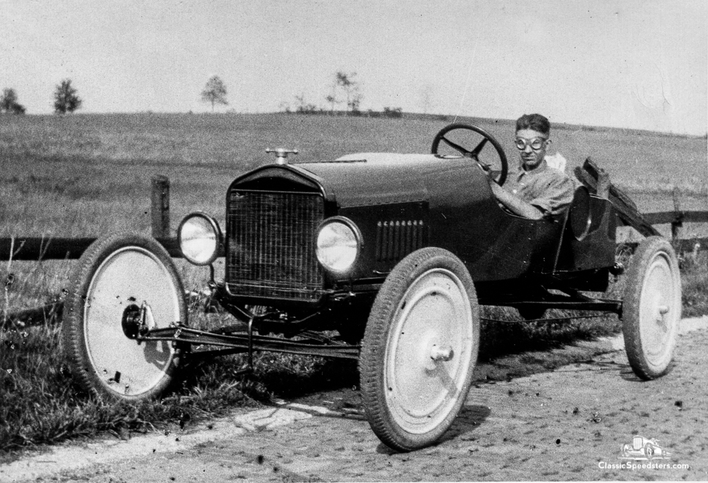 1921 Model T speedster courtesy AACA Library.