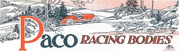 1919 Paco Racing Bodies ad courtesy www.HCFI.org.