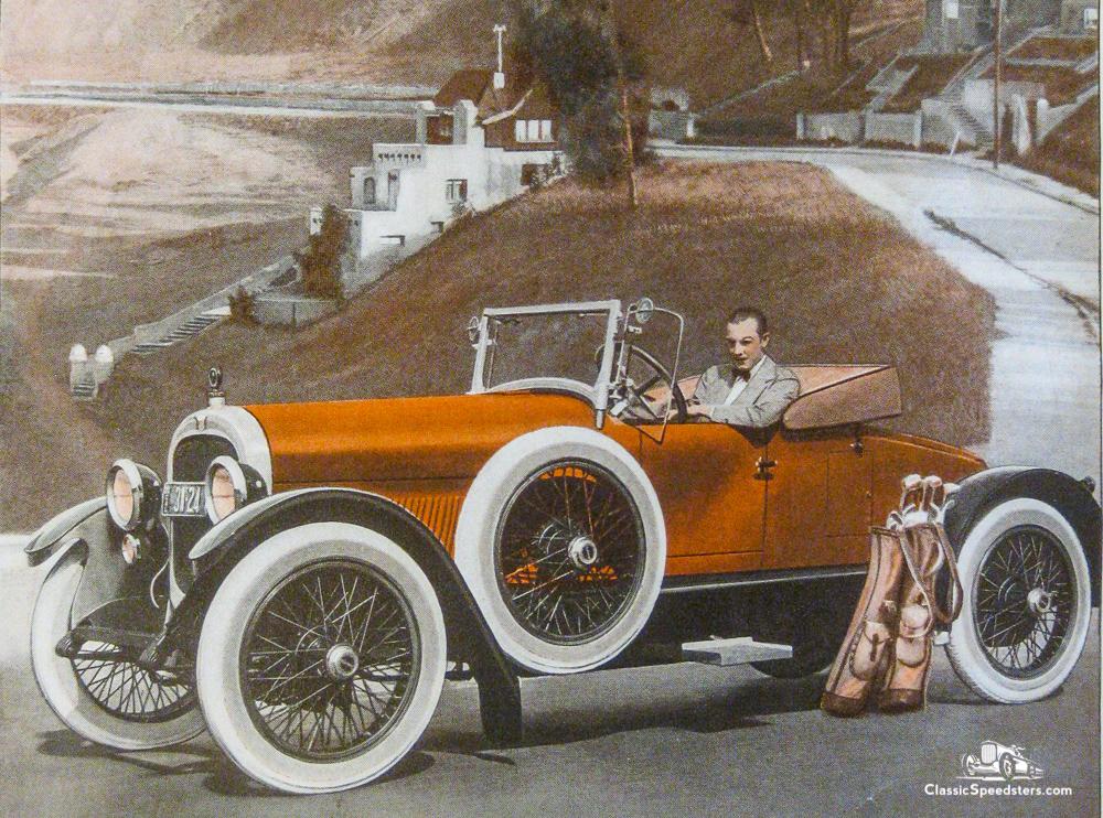 1921 Haynes Model 48 Special Speedster courtesy Elwood Haynes Museum.
