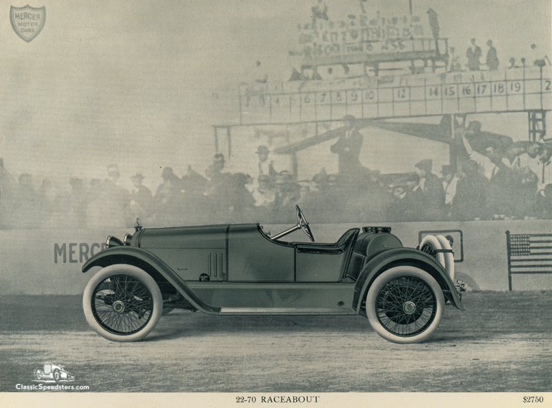 1915 Mercer Series 22-70 Raceabout courtesy AACA Library
