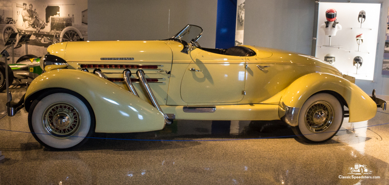 1935 Auburn 851 Super-Charged Speedster, ACD Museum