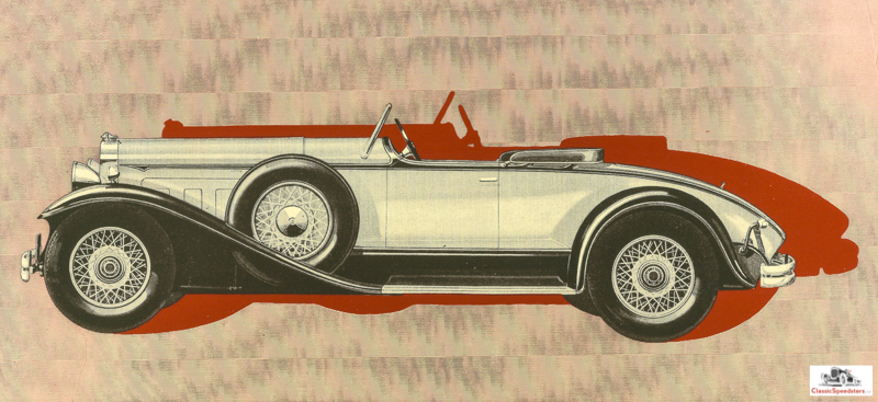 1930 Packard Series 734 Speedster Runabout  courtesy William Bailey collection