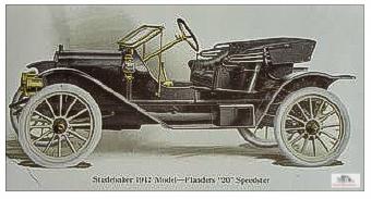 1912 Studebaker-Flanders 20 Speedster. Image courtesy http://EMFAuto.org