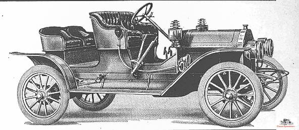 """1909 Everitt """"30"""" Roadster"""