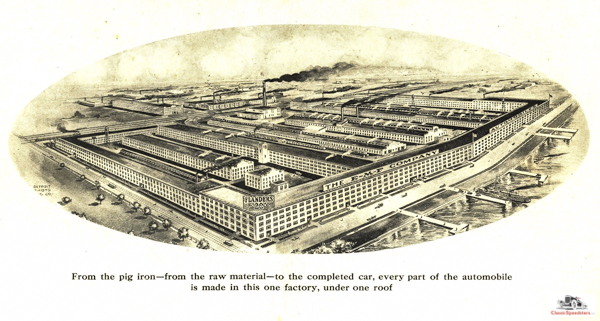 E-M-F factory as it would appear in 1910.