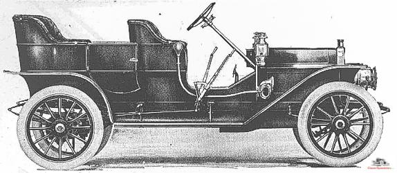1909 E-M-F 30 Tourer