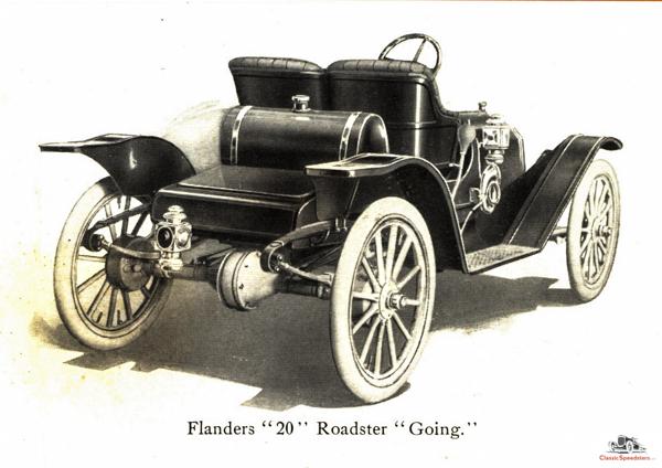 1910 Flanders 20 Racy Roadster from rear