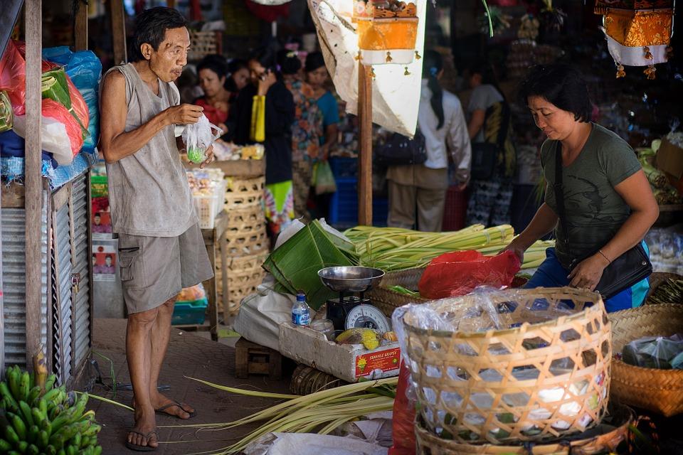 Shopping in Bali -