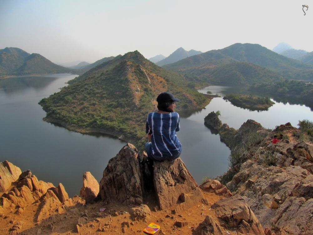 Bahubali Hill, Udaipur.