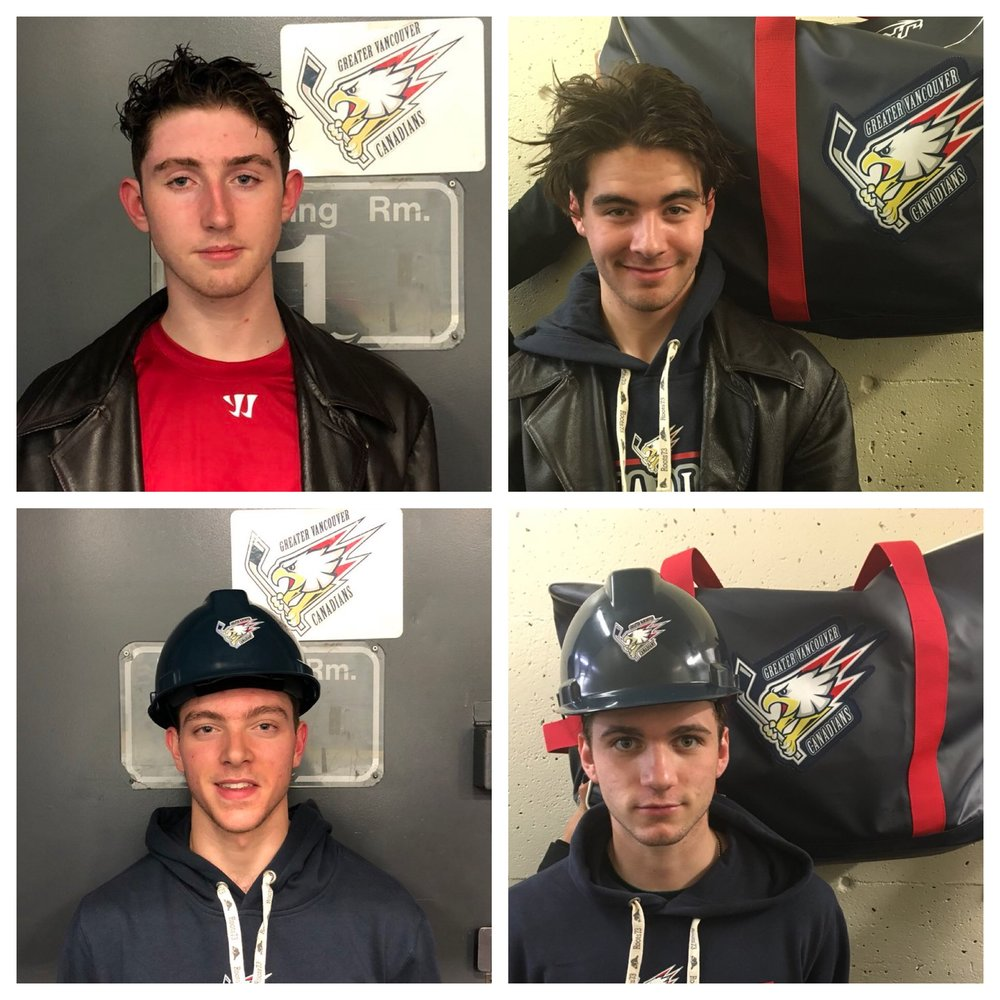 PLAYERS OF THE GAME (TOP): ALEX STEPHEN & JOSHUA HARRISON  HARDEST WORKERS (BOTTOM): VAN LUPIEN & ELLIOT MARSHALL