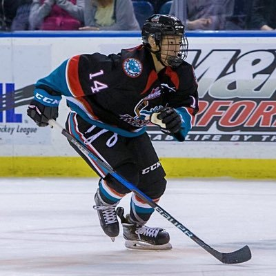 Trevor Wong 2nd Game With Whl Kelowna Rockets Greater Vancouver