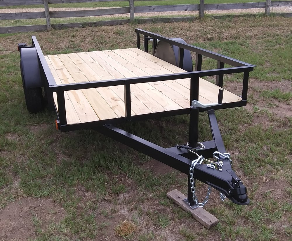 Custom trailers made to suit your needs.
