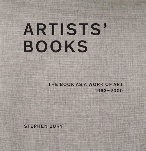 One of the definitive works on British Artists' Books by Dr Stephen Bury.       Artists' Books: The Book as a Work of Art, 1963-2000 ,   published by Bernard Quaritch Ltd. Bury was responsible for building the internationally renowned Chelsea College of Art & Design Library collection, and is now the Andrew W. Mellon Chief Librarian, Frick Art Reference Library, New York. His previous publications include  Artists' Multiples  (2001) and  Breaking the Rules  (2007).