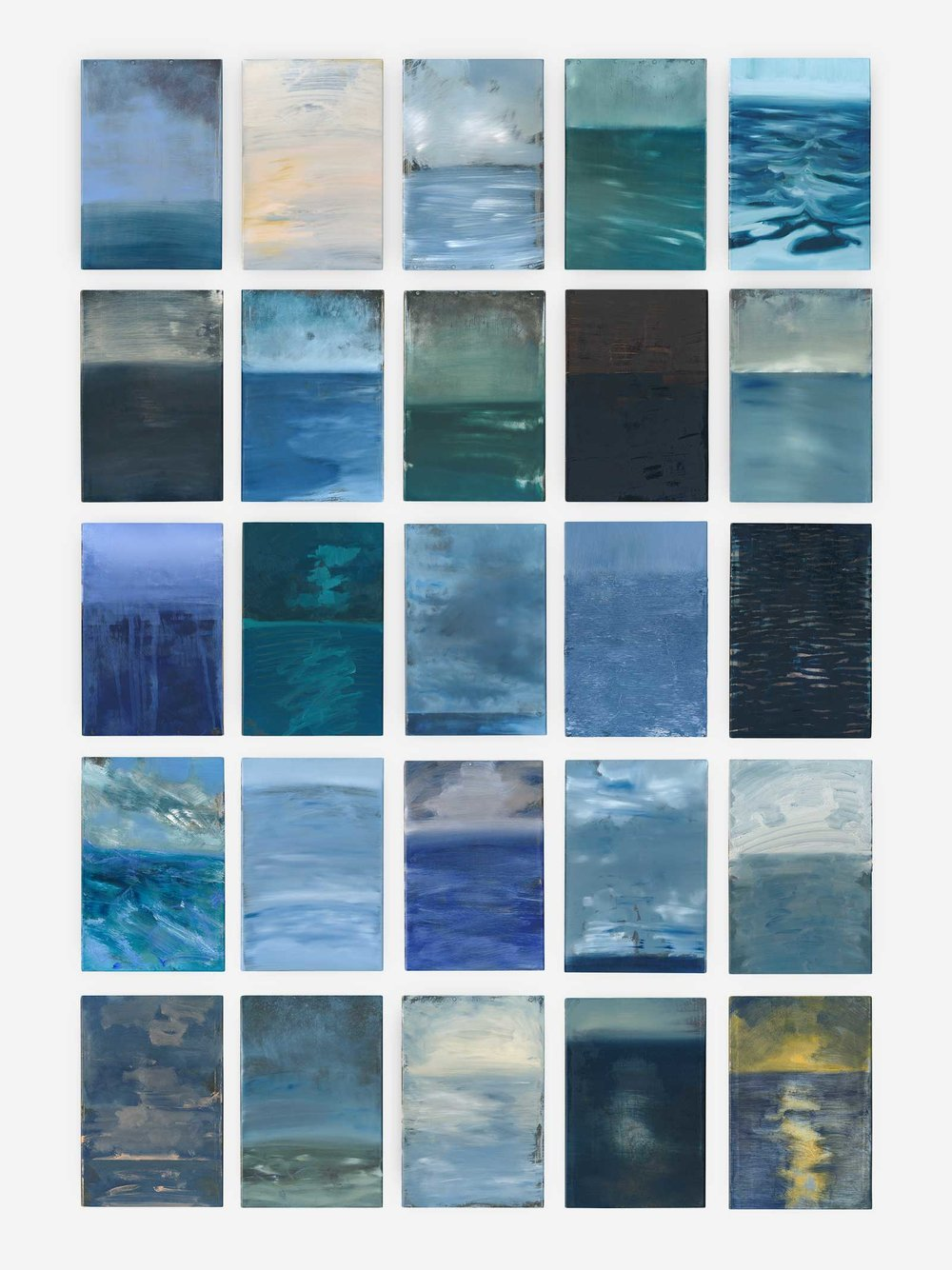 David Cass , 25 Selected painted printmakers' trays (view the full set at  scottish-gallery.co.uk )