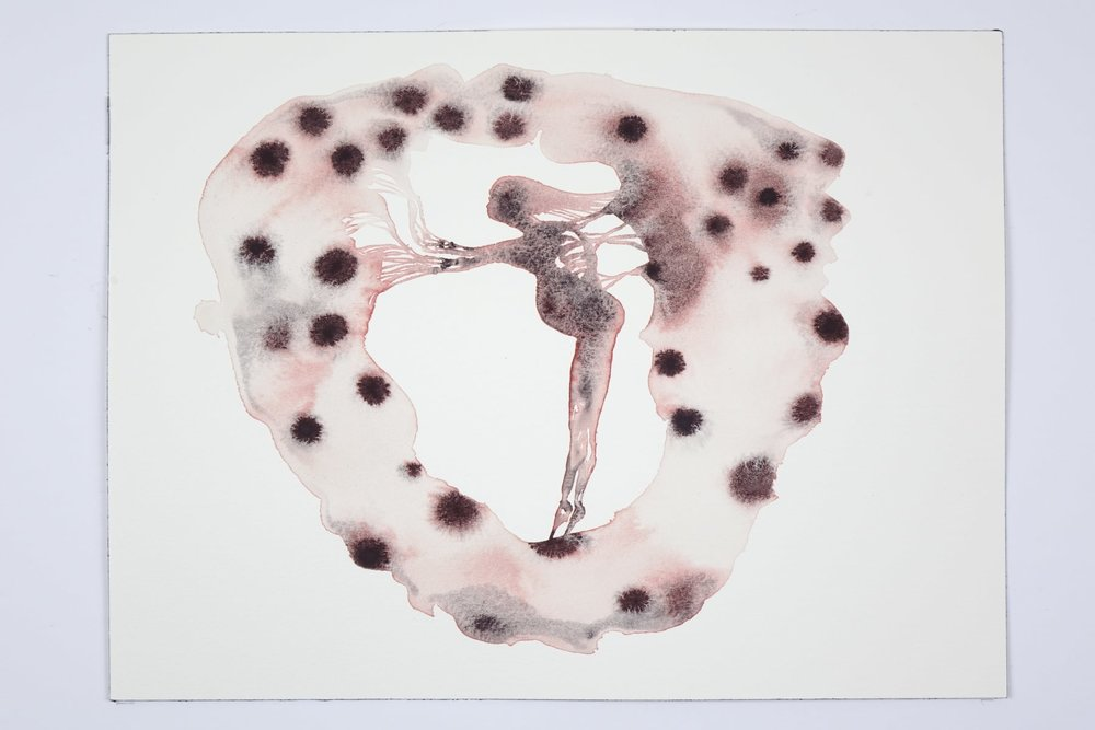 Kate Walters ,  Seer , 2018, Watercolour, 23 x 31 cm