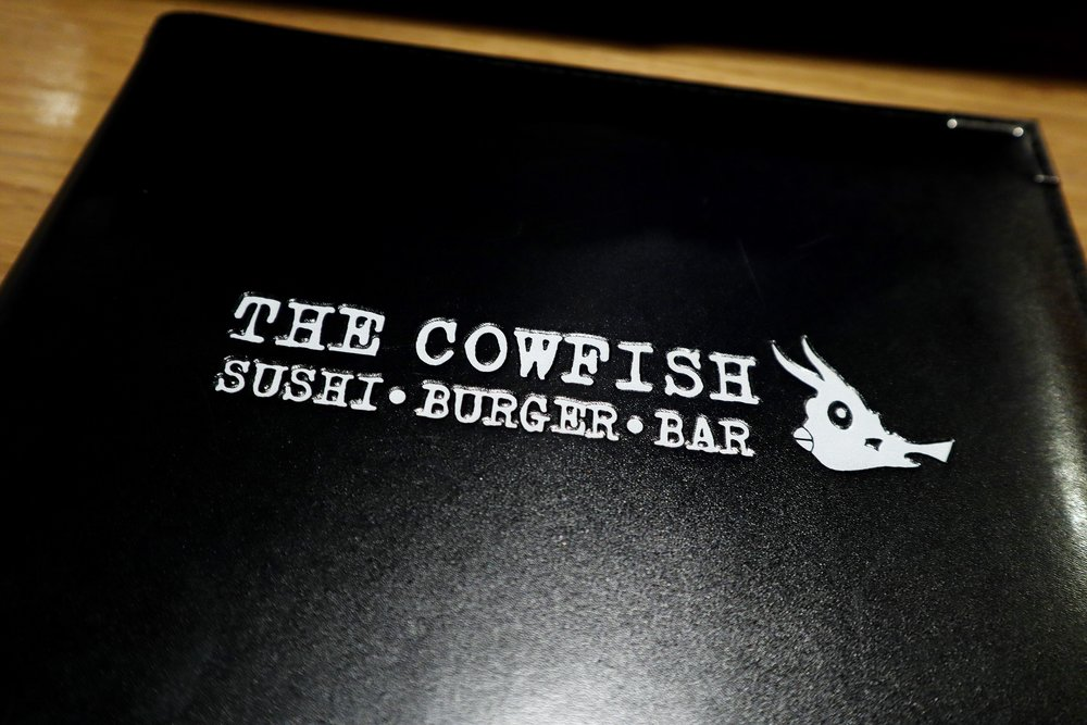 Cowfish Menu