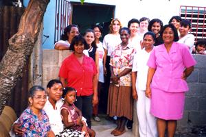Ladies at a Hasten medical facility.