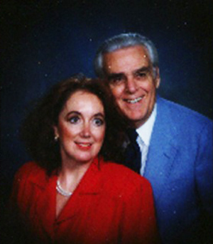 The late Dr. Dennis Pruett and Dr. Jean Pruett