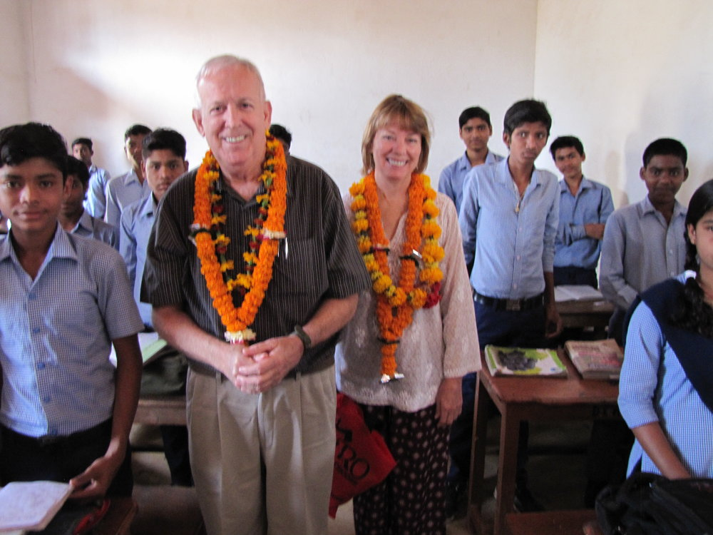 Greetings of Visiters to Missions School