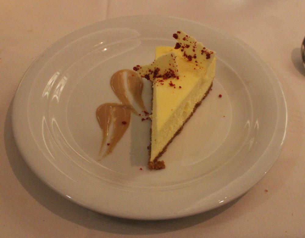 Vanilla Cheese Cake