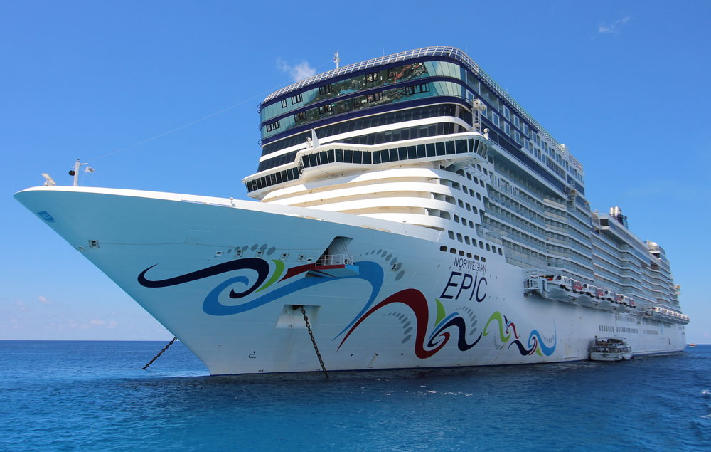 Norwegian Epic from a tender