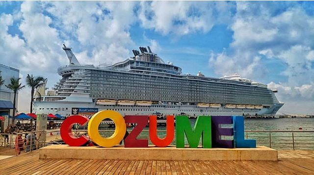 The #AllureoftheSeas docked in #Cozumel this past week!