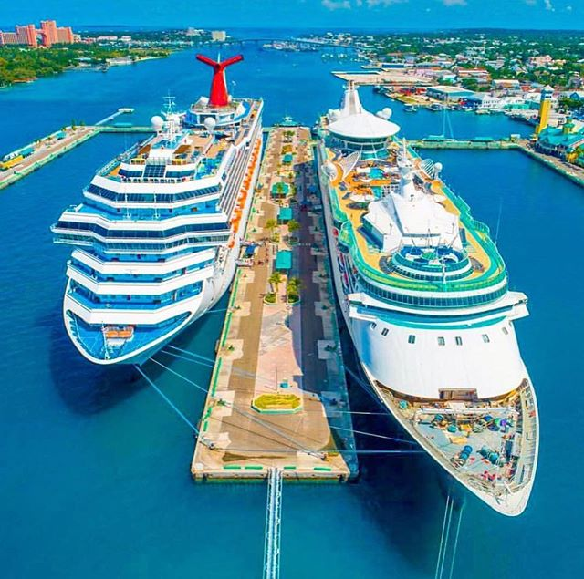 The #CarnivalValor vs. the #EnchantmentoftheSeas! Which would you choose? Valor, Enchantment, or neither?