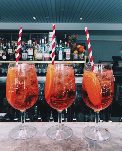 Spritz your way through the weekend at Manly Greenhouse. Pic @manlygreenhouse